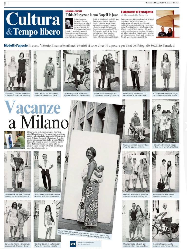 Style Corriere Della Sera Calendario Uscite.Ritratti Per Il Corriere Della Sera Settimio Benedusi Blog