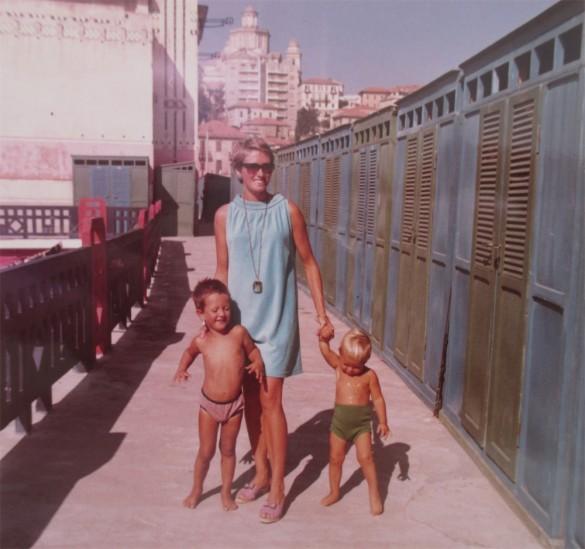 renate, marco e andrea garibaldi 1967